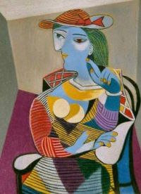 Picasso: Seated Woman (1937)