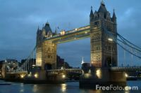 London - Tower Bridge at Night