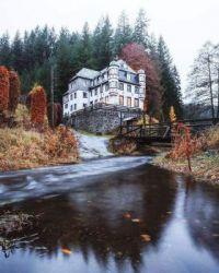 Frankenwald Nature Park. Kronach, Germany