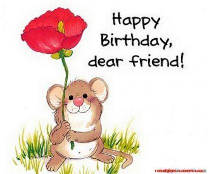 Happy Birthday My Dear Friend OandA!!