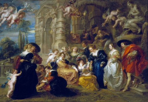 The Garden of Love, 1610 by Peter Paul Rubens