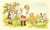 Christopher Robin, Pooh Bear and Friends