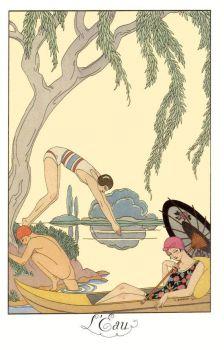 Geroges Barbier (1882-1932) - L' Eau, 1925