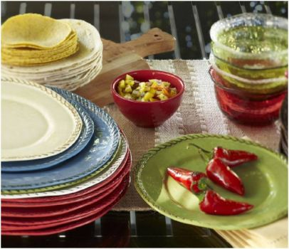 Dishes by Pottery Barn