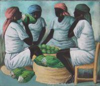 Haitian Women by Raymond Lafaille