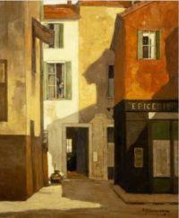 David Young Cameron (Scottish, 1865–1945), La Rue Annette (1922)