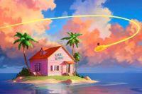 Dragon ball - Kame house