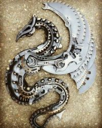 steampunc dragon