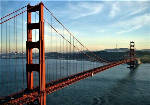 Golden Gate Bridge. USA.