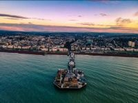 Brighton Palace Pier from Above