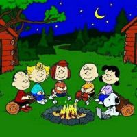 Let's roast marshmallows Charlie Brown