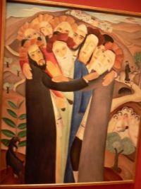 A Minyon - by Israeli artist Reuven Rubin .. see comments below