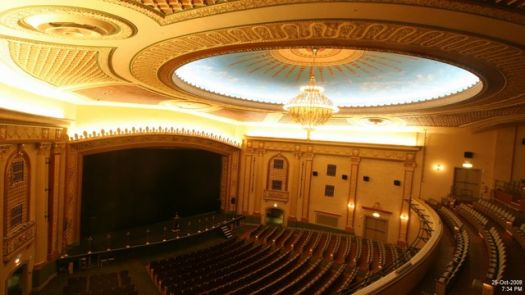 The Count Basie Theatre (interior)