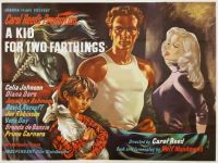 A KID FOR TWO FARTHINGS - 1955 POSTER -  CELIA JOHNSON, DIANA DORS, JONATHAN ASHMORE