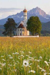 St. Colomon Church, Oberbayern, Bavaria, Germany