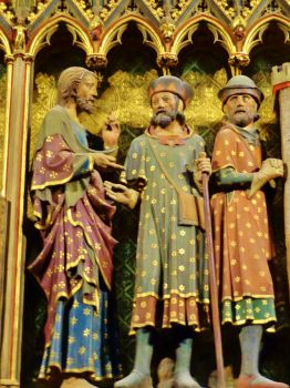 Detail from Paris Cathedral