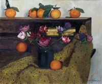 Anemones and oranges
