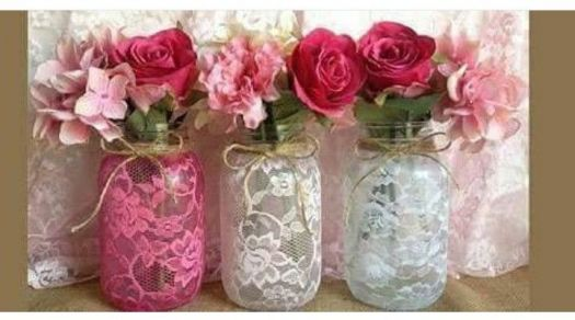 Bottles of LACE CURTAINS