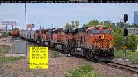 BNSF-6919 BNSF-7581 BNSF-7776 & BNSF-6803 OKC