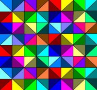 Triangles et couleurs