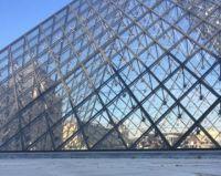 Paris Landmarks - Louvre Pyramid