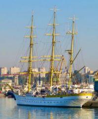 Romanian Navy training ship Mircea