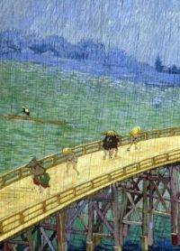 Vincent van Gogh - The bridge in the rain - 1887