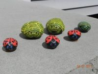 marching turtles and ladybugs