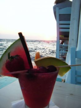 Cocktails on Mykonos