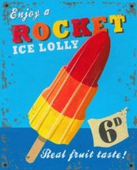 A Lolly her, a Lolly there.. blast off!