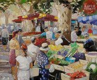 Andre Deymonaz Impressionist Artist - Outdoors