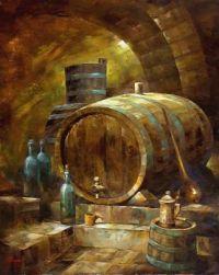 WINE CELLAR  Artist - Janos Korognai