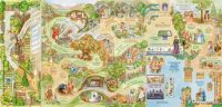 Map of the World of Beatrix Potter