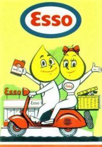 Themes Vintage ads - Esso