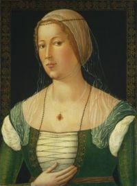 ca. 1508 Portrait of a Young Woman Girolamo di Benvenuto