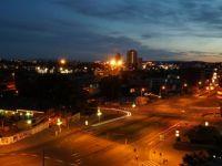 Noční Brno - pohled na jih