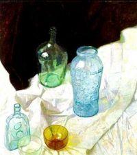 Still Life with Amber Bowl, c.1925, N. C. Wyeth (1882-1945)