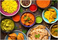 India's cuisine is colorful