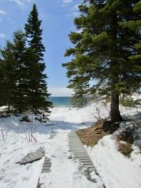 Boardwalk to Sandy Beach
