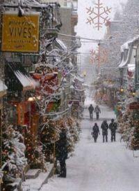 Quebec City (I think)