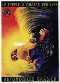 1900s c Automobiles Brasier by Leonetto Capiello