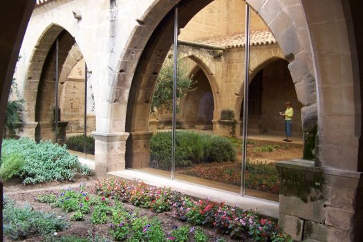 39 cloister reflection