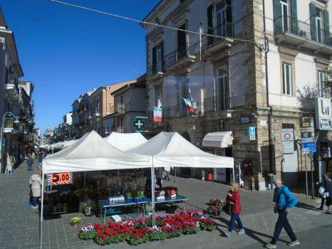 Market Day in Ortona, Italy