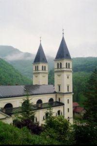Franciscan monastery in Kraljeva Sutjeska, Bosnia