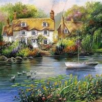 Lakeside Houses