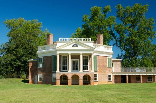 Thomas Jefferson's plantation home at Poplar Forest