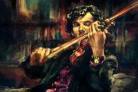 Sherlock and His Violin