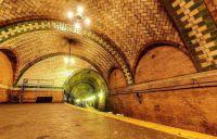 A stunning Art Deco subway station, NY USA