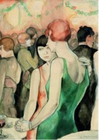 Jeane Mammen Artworks  - At the Dance