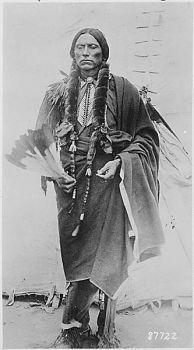 Quanah Parker, a Kwahadi Comanche chief